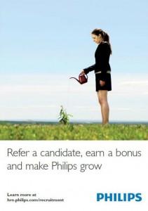 Poster referralprogramma Philips